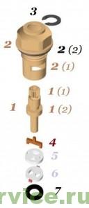керамическая букса